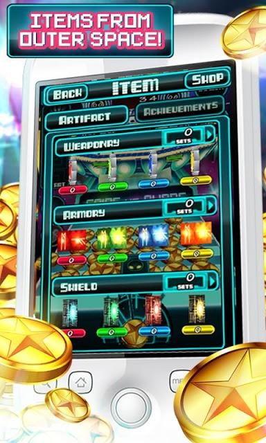 Coins Vs Aliensのスクリーンショット_4