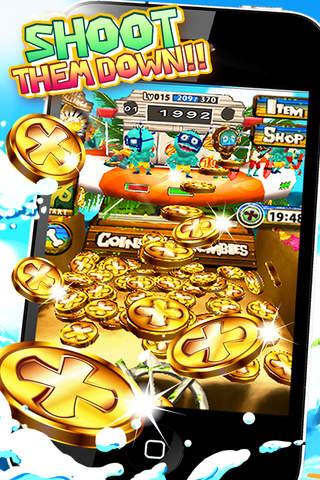 コイン VS ゾンビ サマーのスクリーンショット_1