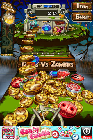 Coins Vs Zombiesのスクリーンショット_1