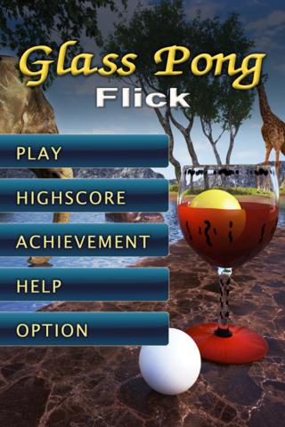 GlassPong Flickのスクリーンショット_1