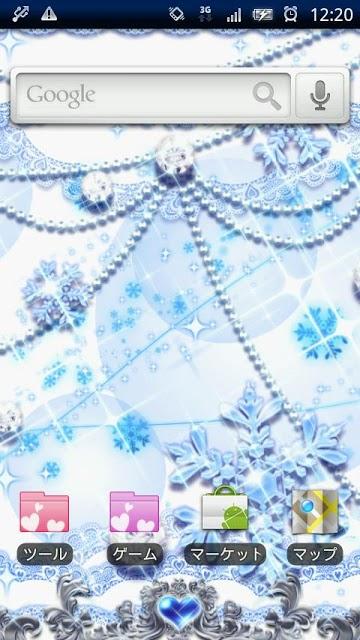 [キラ姫専用テーマ] Snow Worldのスクリーンショット_1
