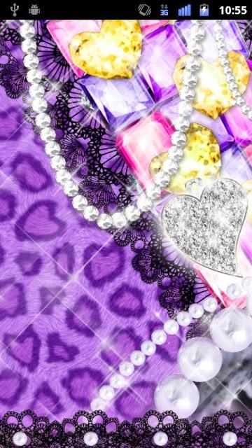 [キラ姫専用テーマ]Purple Leopardのスクリーンショット_4