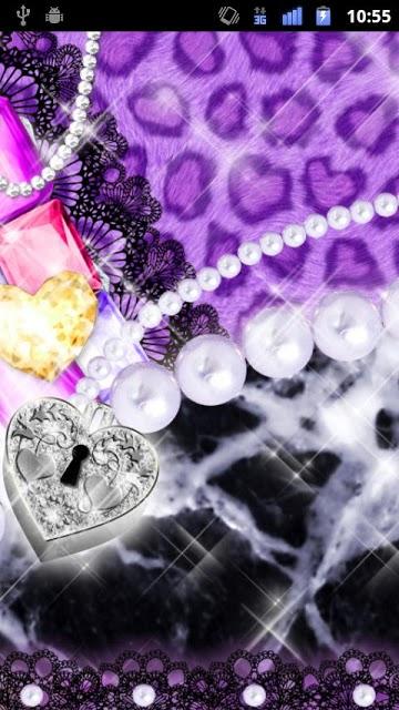 [キラ姫専用テーマ]Purple Leopardのスクリーンショット_5