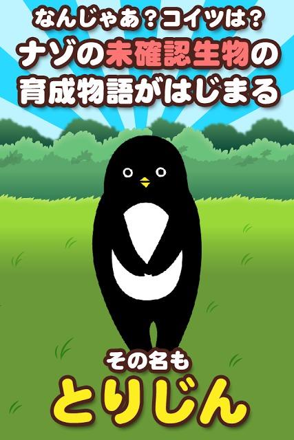 とりじん-ナゾの未確認生物の放置育成ゲーム【無料】のスクリーンショット_1