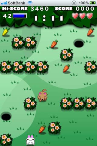 Rabbit Maze Freeのスクリーンショット_1