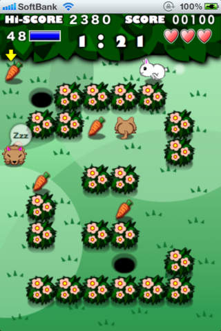 Rabbit Maze Freeのスクリーンショット_2