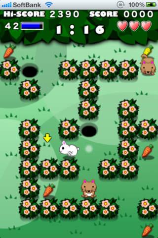 Rabbit Maze Freeのスクリーンショット_3