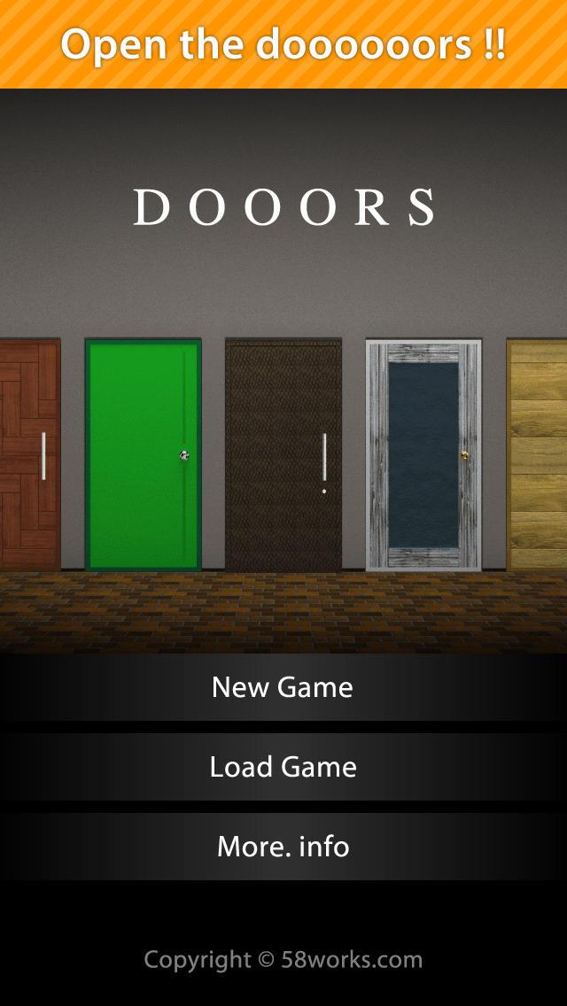 脱出ゲーム DOOORSのスクリーンショット_1