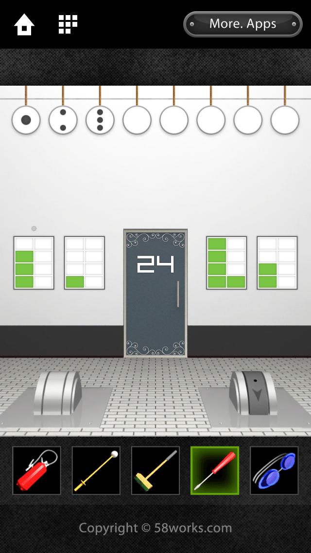 脱出ゲーム DOOORS 2のスクリーンショット_4