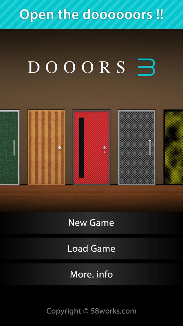 脱出ゲーム DOOORS 3のスクリーンショット_1