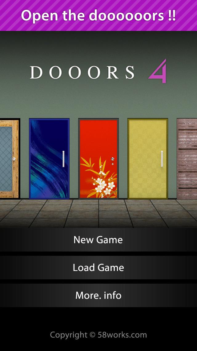 脱出ゲーム DOOORS 4のスクリーンショット_1