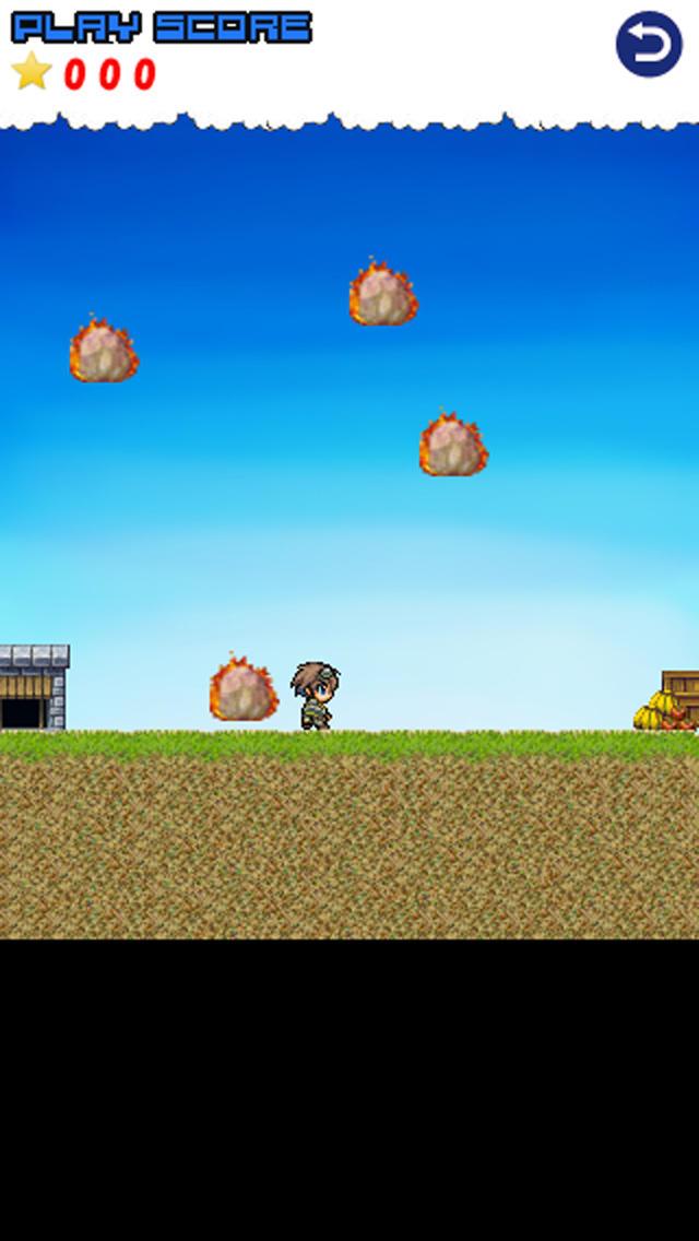 メテオストライク -簡単操作な回避アクションゲーム-のスクリーンショット_2