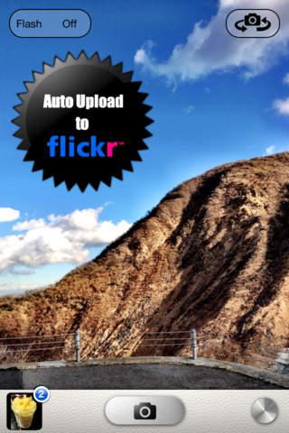 Fast Flickr-自動アップロードカメラ-のスクリーンショット_1