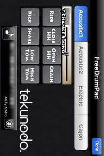 FreeDrumPad2のスクリーンショット_2