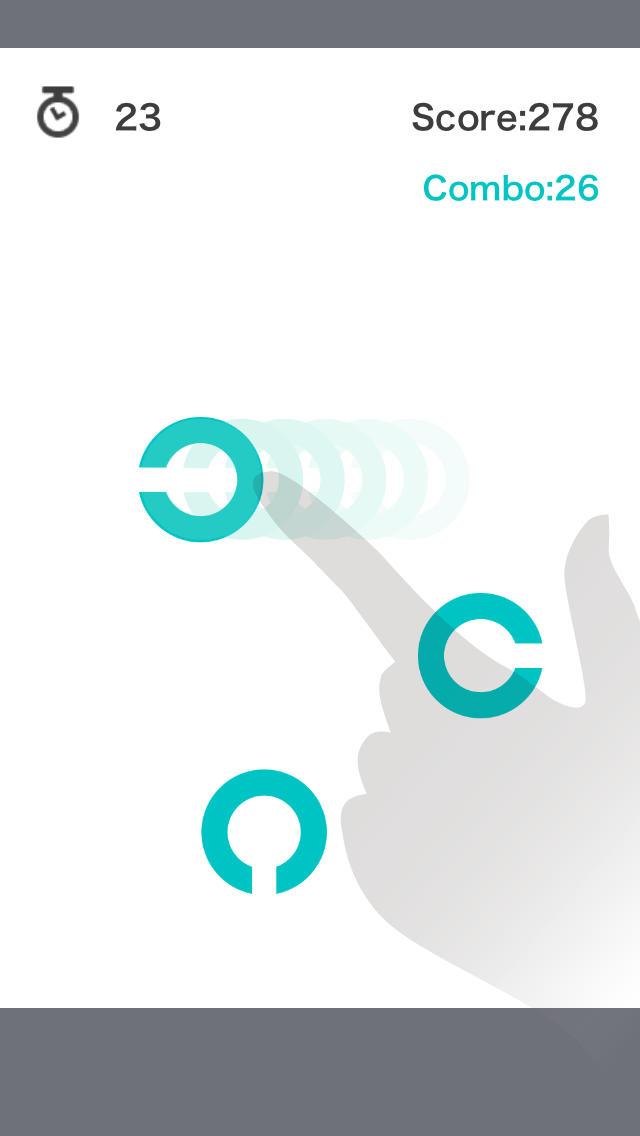 動体C力2 動体視力を鍛えるお手軽脳トレアプリの決定版!!のスクリーンショット_1