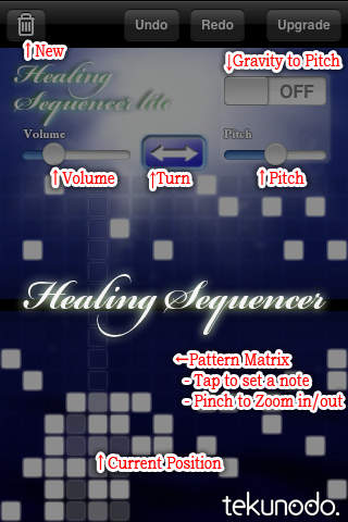 Healing Sequencer Liteのスクリーンショット_2
