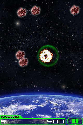 Meteor Destroyer Ad-Freeのスクリーンショット_1
