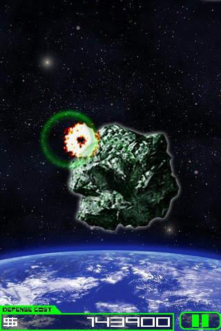 Meteor Destroyer Ad-Freeのスクリーンショット_2