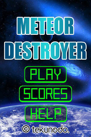 Meteor Destroyer Ad-Freeのスクリーンショット_4