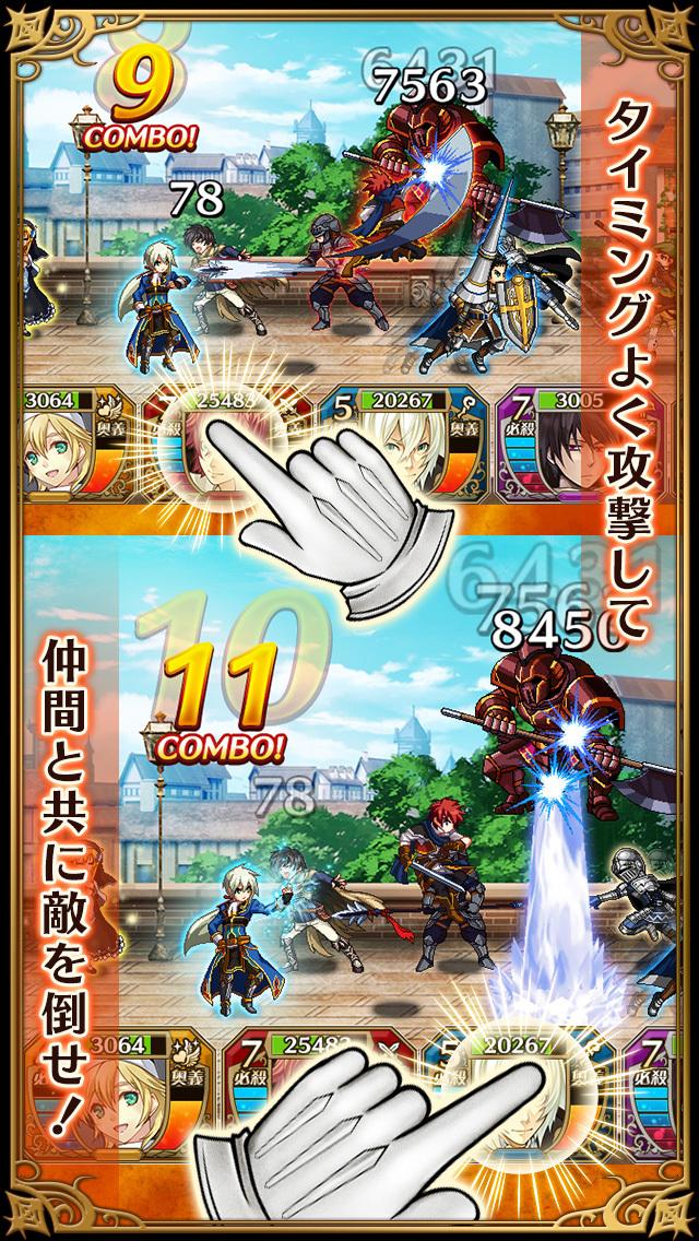 クロスサマナー(クロサマ)本格RPGのスクリーンショット_3