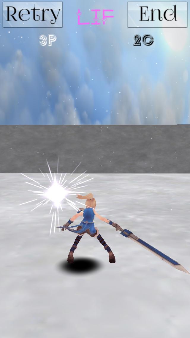Anguish of Swordswoman〜女剣士の苦悩〜のスクリーンショット_2