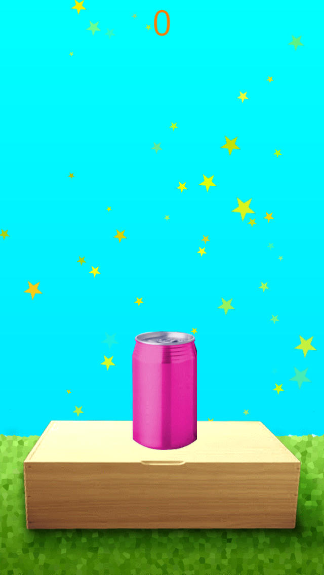 空き缶をつみあげてガシャンのスクリーンショット_5