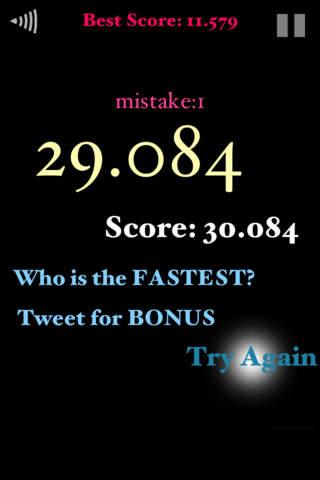 Fastest Tap 30のスクリーンショット_2