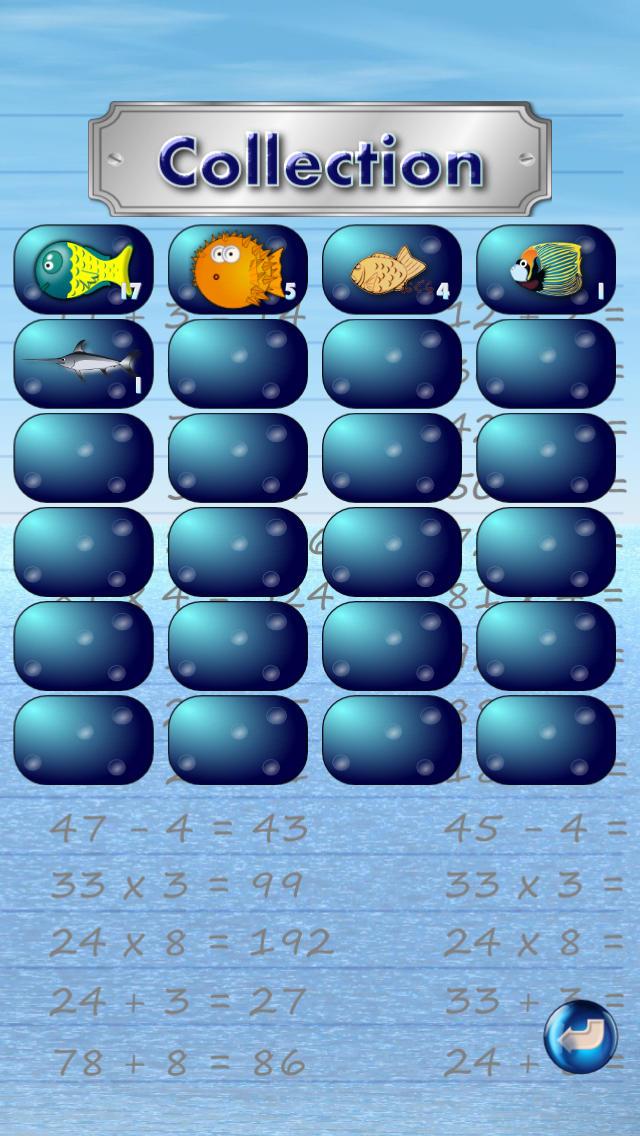 お魚計算 - 計算練習で暗算の達人。脳トレにも。のスクリーンショット_4