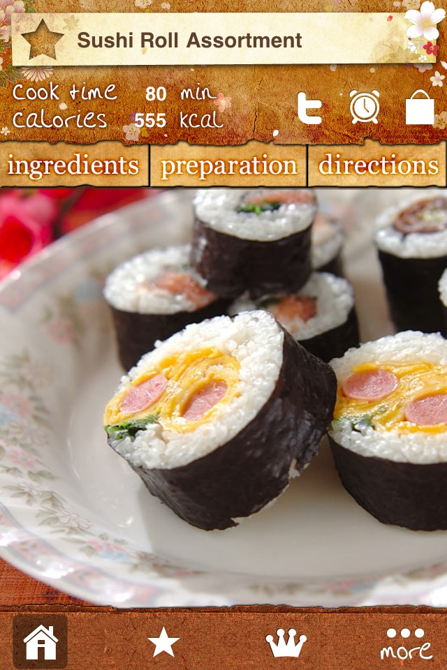 Japanese Food Recipe Galleryのスクリーンショット_2