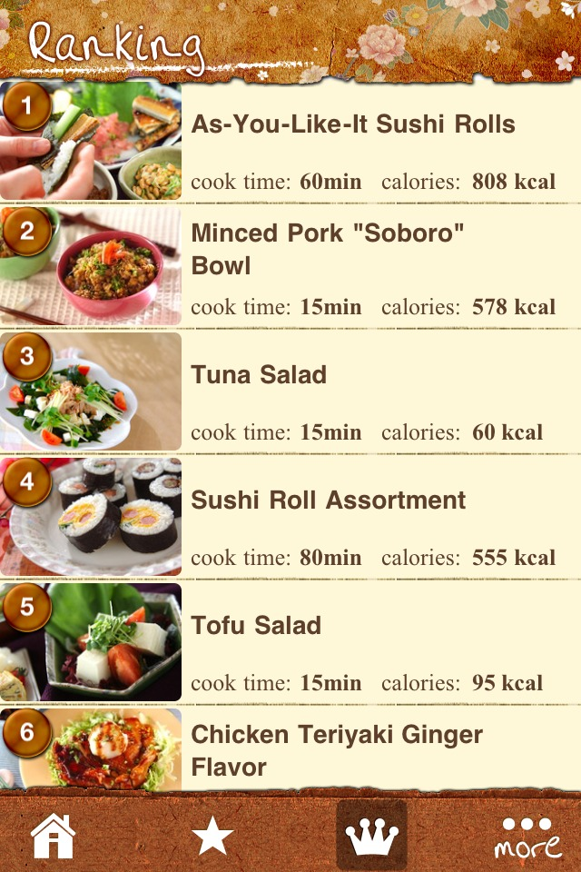 Japanese Food Recipe Galleryのスクリーンショット_4