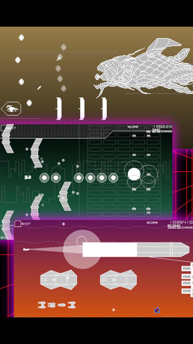 スペースインベーダー インフィニティジーンのスクリーンショット_2