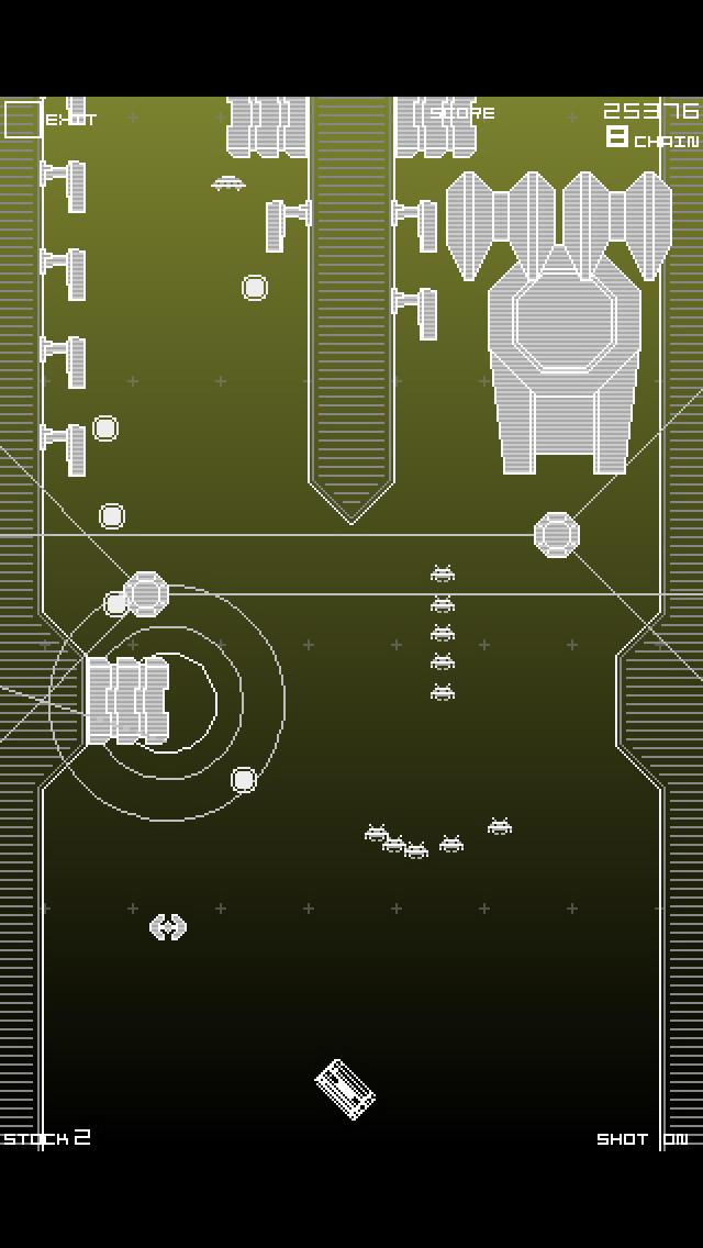 スペースインベーダー インフィニティジーンのスクリーンショット_5
