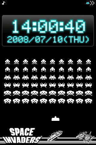 スペースインベーダー時計のスクリーンショット_2