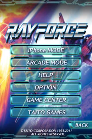 RAYFORCEのスクリーンショット_5