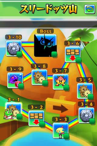 ニューパズルボブルのスクリーンショット_4
