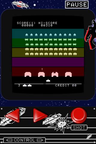 スペースインベーダーのスクリーンショット_3