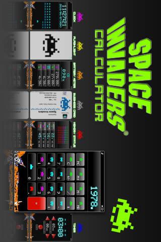 スペースインベーダー電卓のスクリーンショット_3