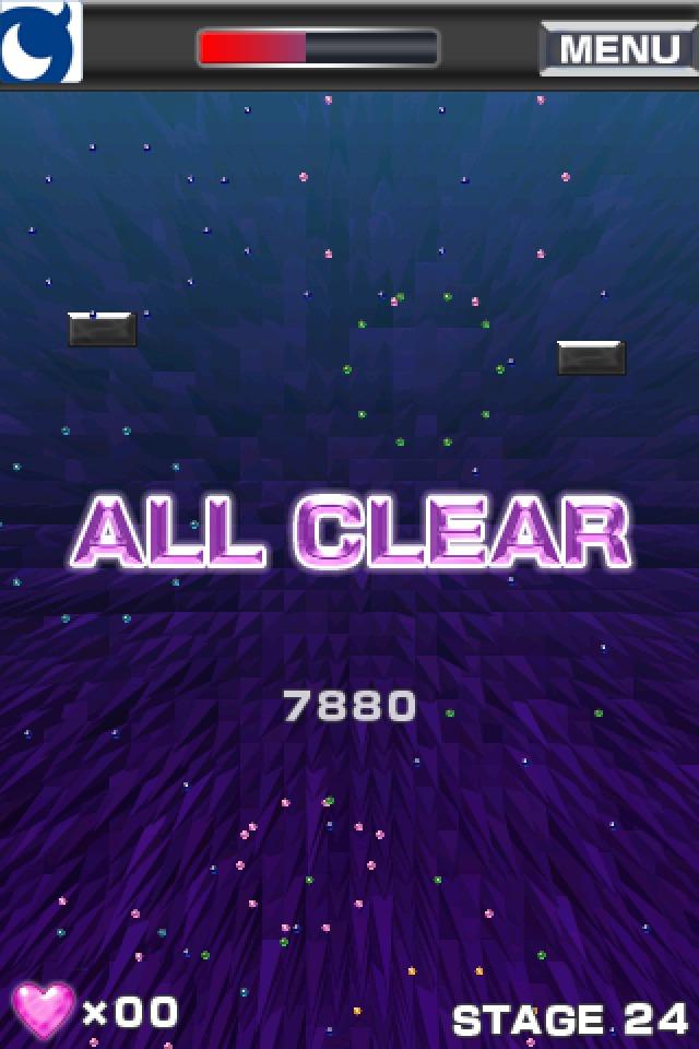 ブロック崩し for Mobage(モバゲー)のスクリーンショット_3