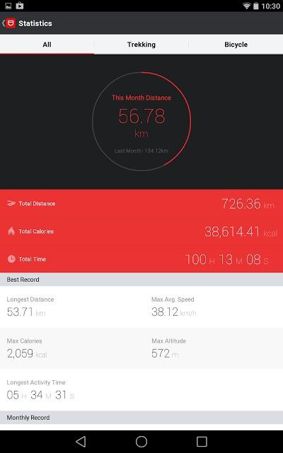 PoketRoket - Trekking Cyclingのスクリーンショット_5