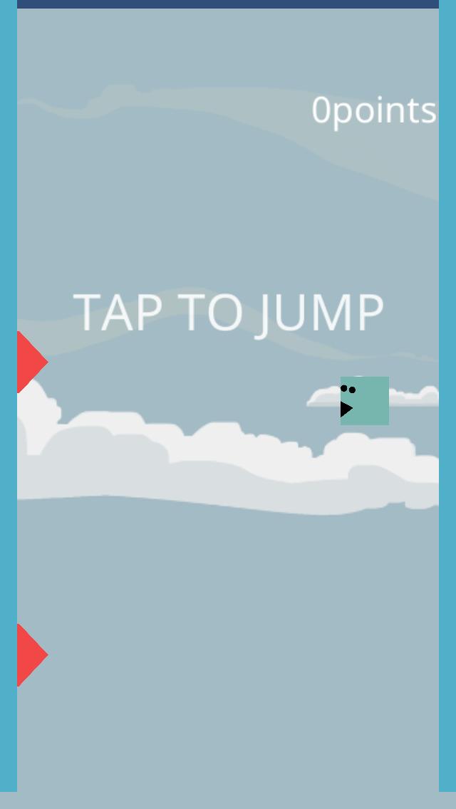 赤にふれないでください 2段ジャンプverのスクリーンショット_1