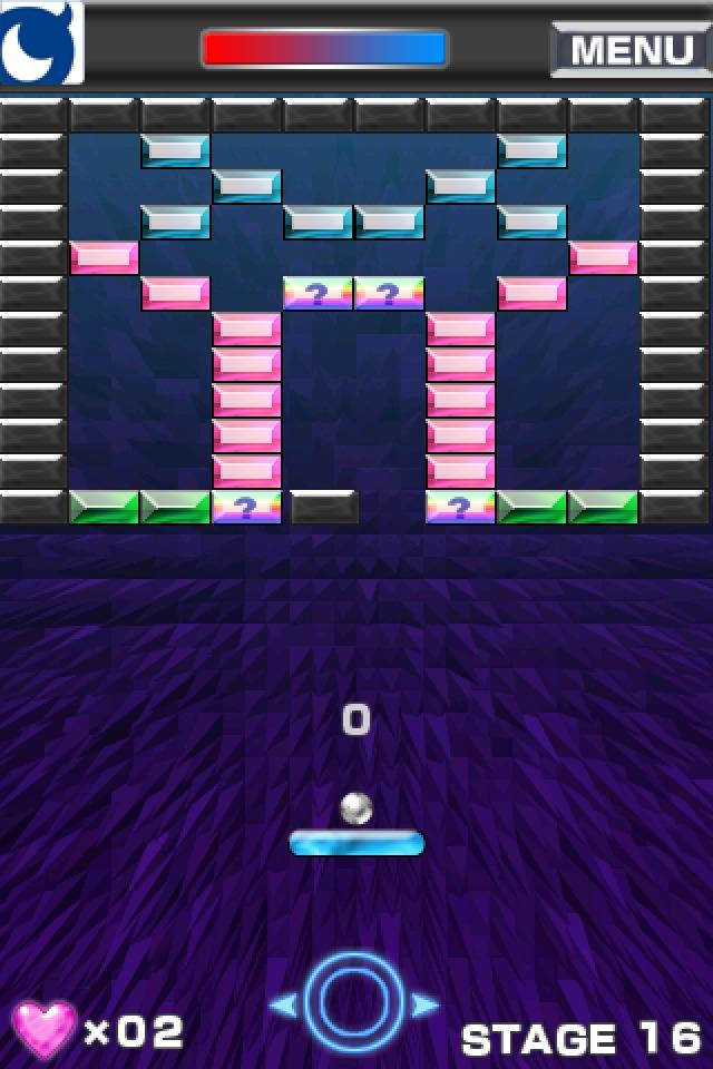 ブロック崩し for Mobage(モバゲー)のスクリーンショット_4