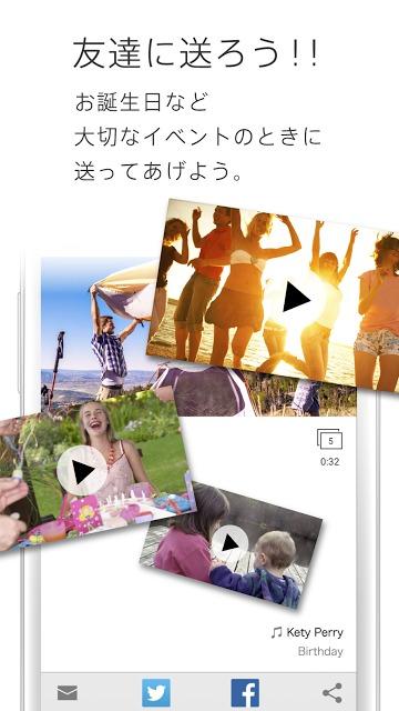 SLIDE MOVIES -スライドショー・動画作成【無料】のスクリーンショット_5