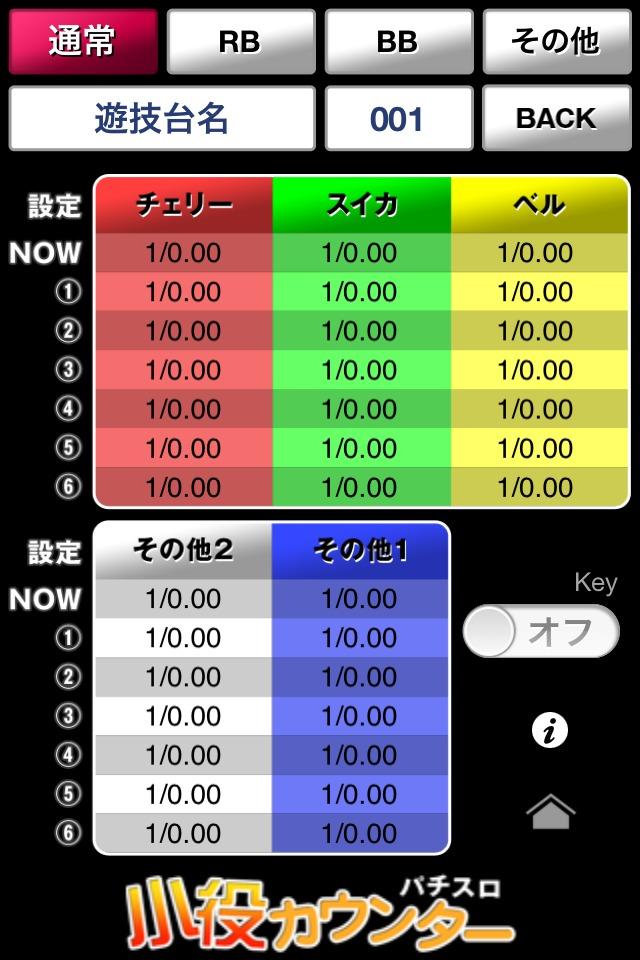 パチスロ小役カウンター(子役カウンター)のスクリーンショット_3