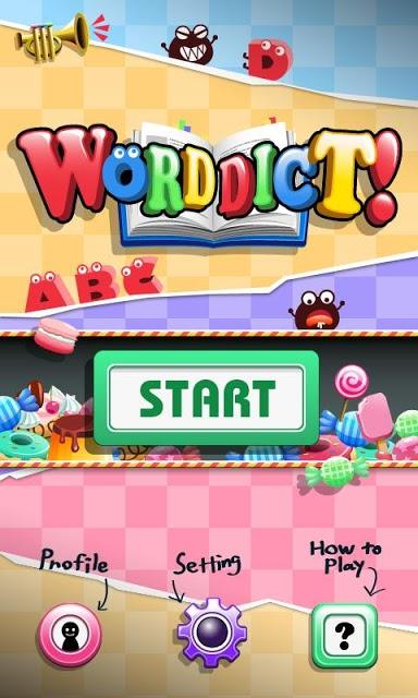 WORDDICT!-ワーディクトのスクリーンショット_1