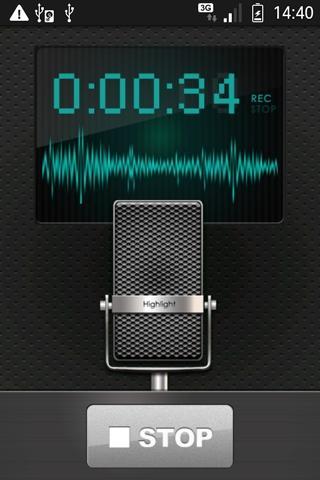 ハイライトレコーダー(無料版)のスクリーンショット_2