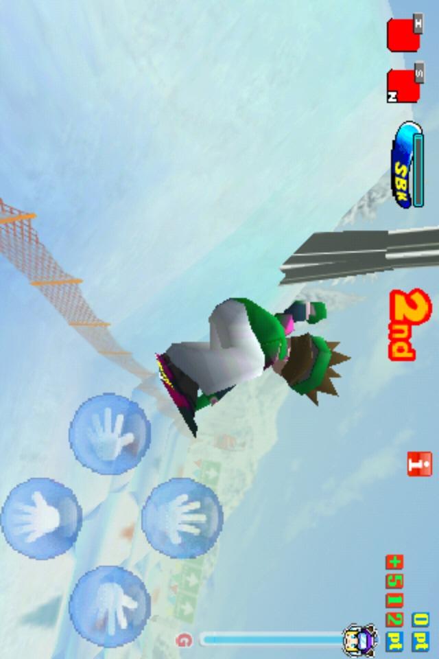 Snowboard Kids Freeのスクリーンショット_4