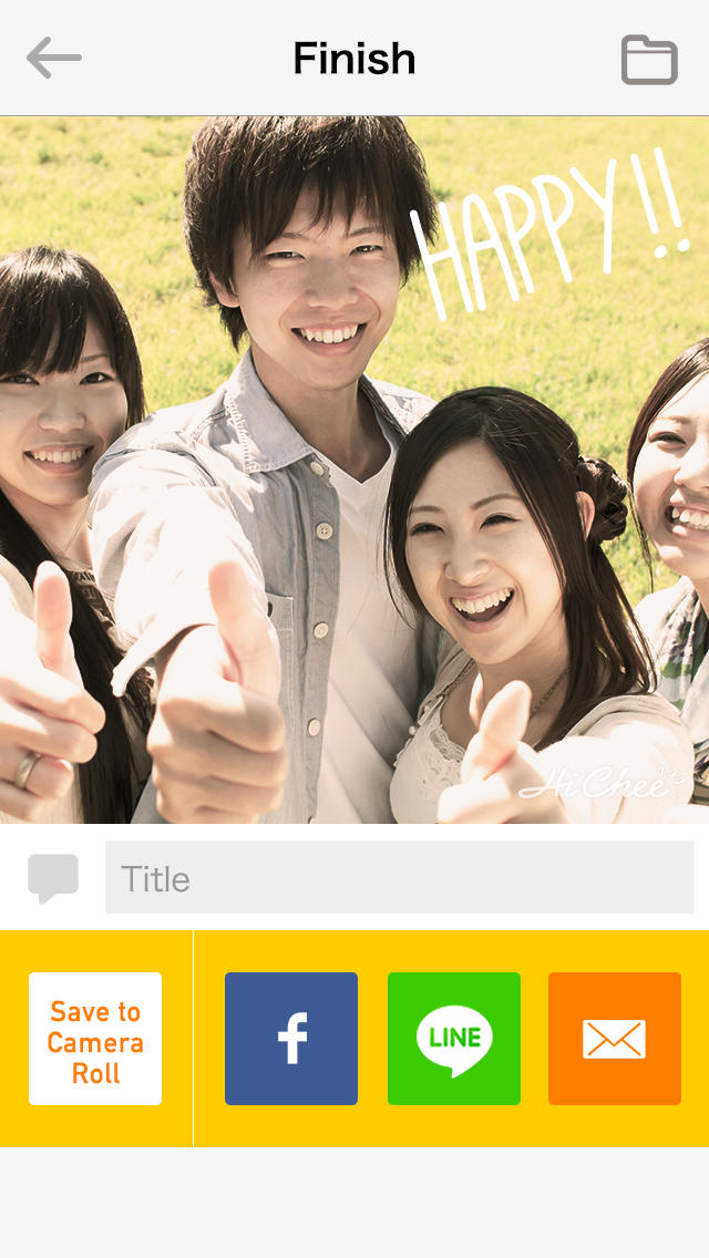 HiChee 〜「3,2,1,パシャ!」がムービーになる魔法のカメラアプリ〜のスクリーンショット_4