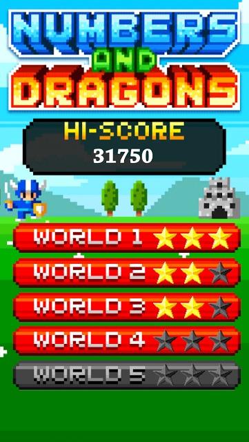 手軽で簡単に楽しく学習して覚える数字脳トレミニゲームアプリのスクリーンショット_1