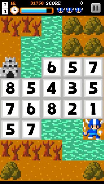 手軽で簡単に楽しく学習して覚える数字脳トレミニゲームアプリのスクリーンショット_3