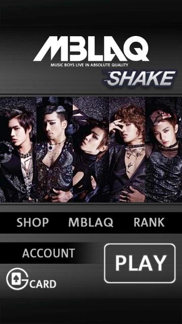 MBLAQシェイクのスクリーンショット_1